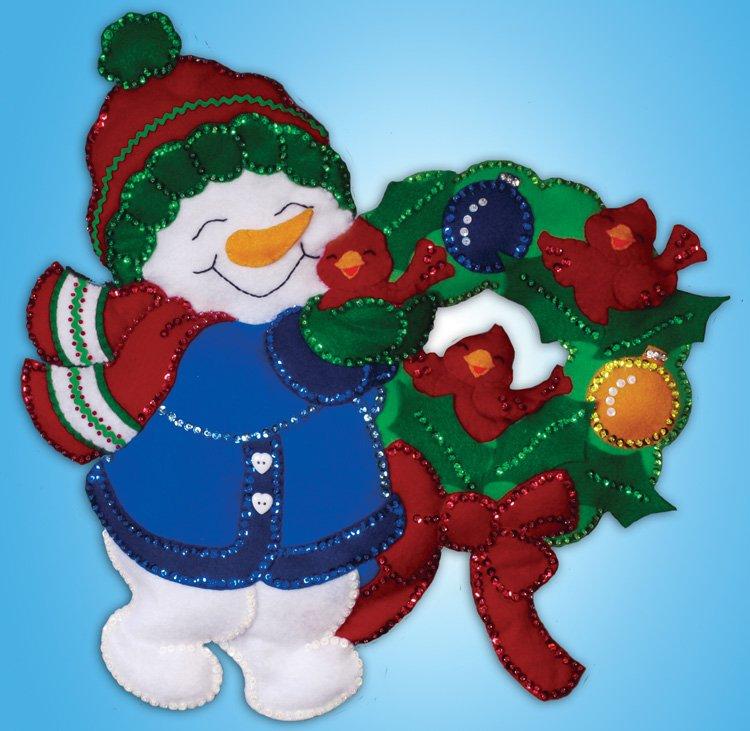 # 5189 Snowman & Cardinal