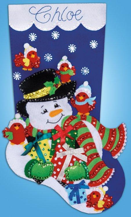 # 5231 Snowman & Cardinals