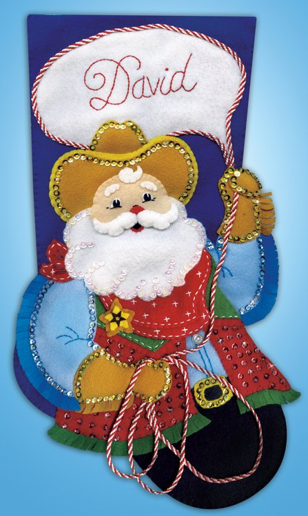 # 5233 Cowboy Santa