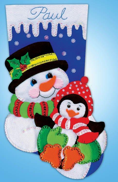 # 5236 Snowman & Penguin