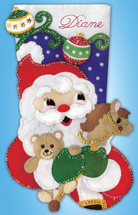# 5253 Santa with Toys