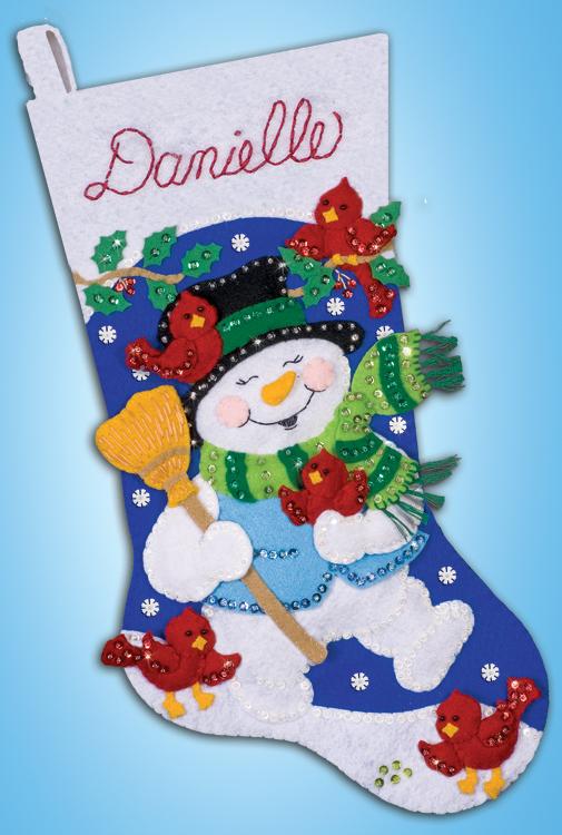 # 5267 Snowman With Cardinals