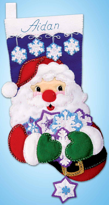 # 5291 Snowflake Santa