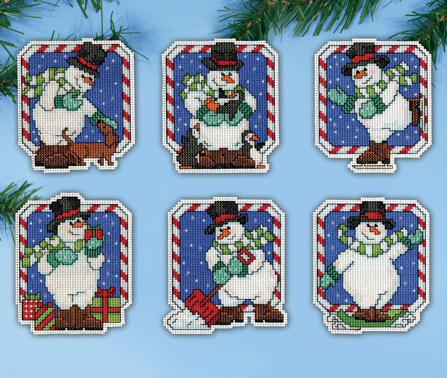 # 5912 Candy Cane Snowmen