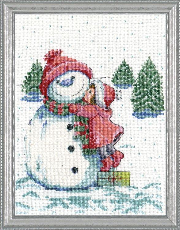 # 5913 Red Hat Snowman