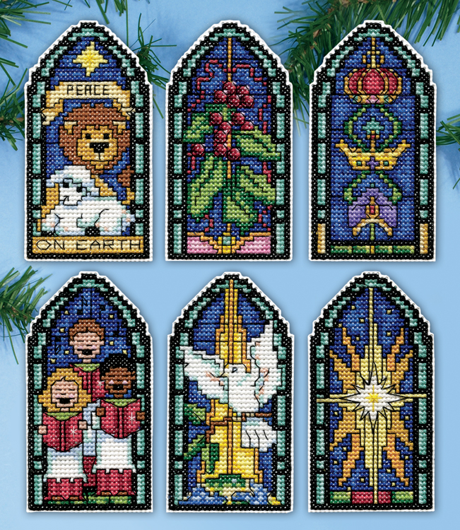 # 5915 Peace on Earth Stained Glass