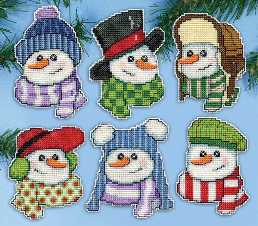 # 5919 Snowmen in Hats