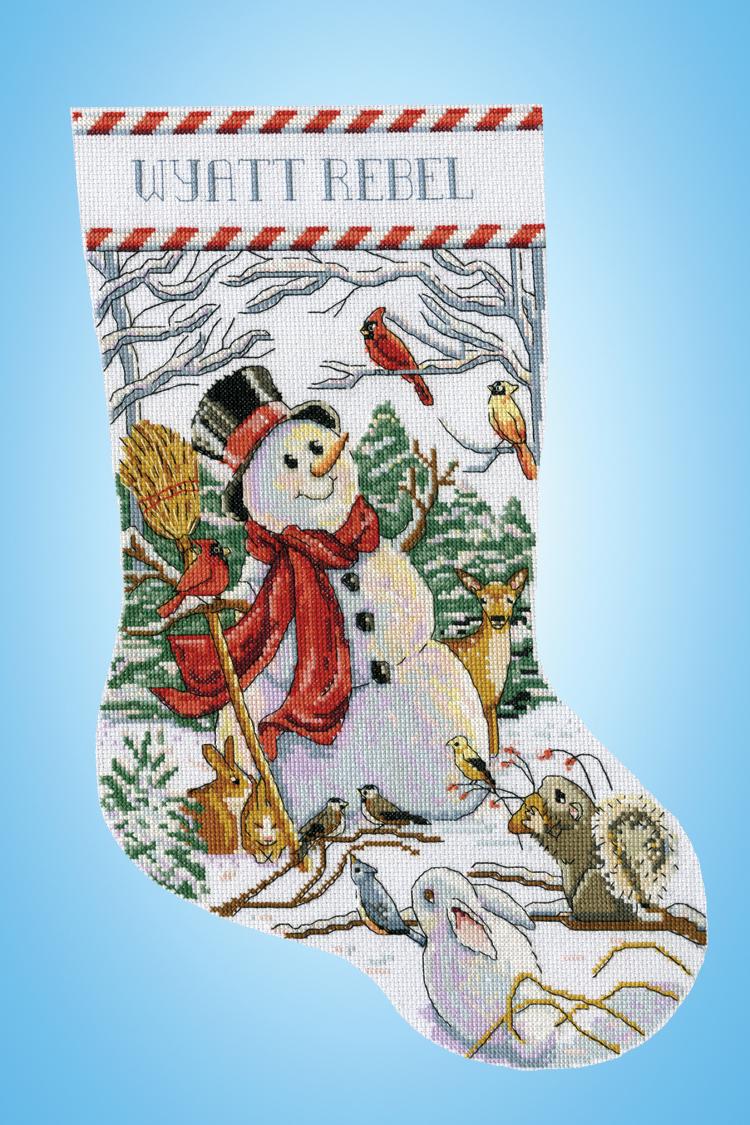 # 5934 Woodland Snowman
