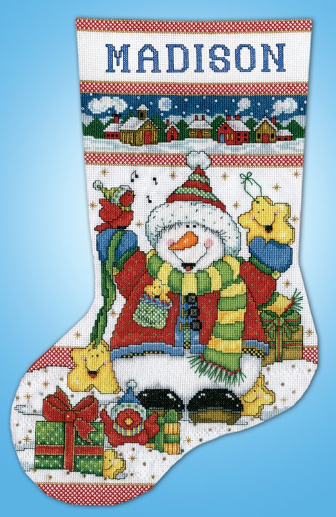 cross stitch stocking kit msrp 2199 view large image