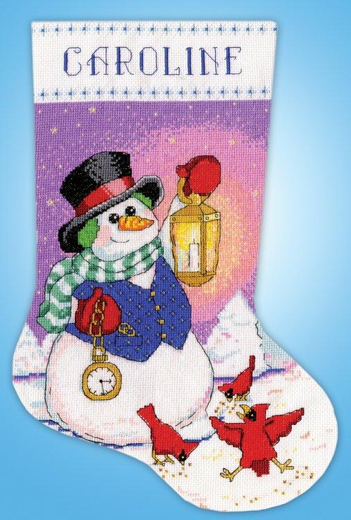 # 5995 Snowman with Lantern