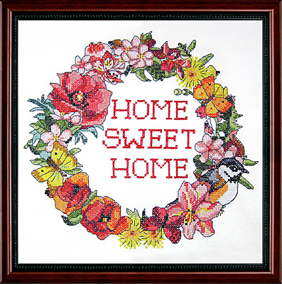 # 7010 Home Sweet Home Wreath