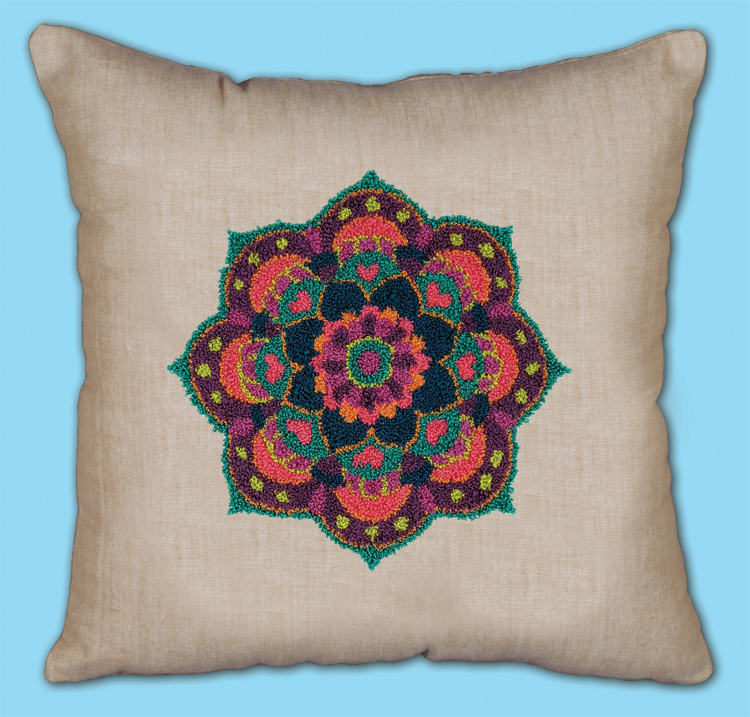 # 7022 Mandala Pillow