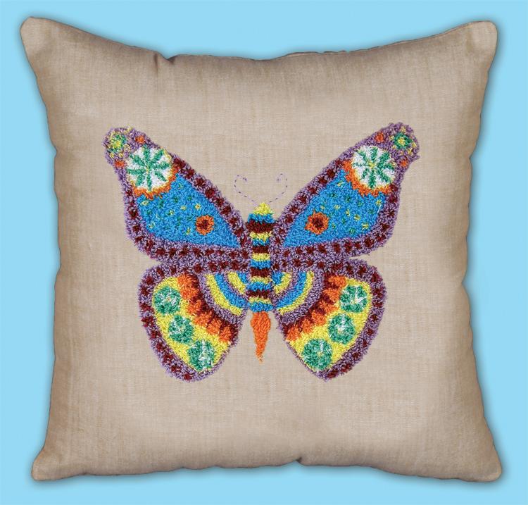 # 7023 Butterfly Pillow