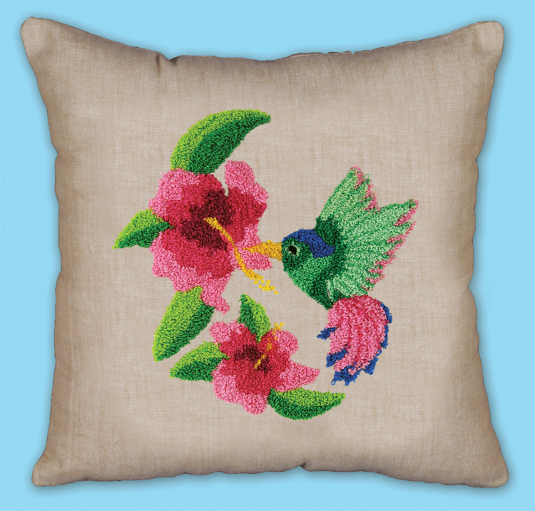 # 7025 Hummingbird Pillow