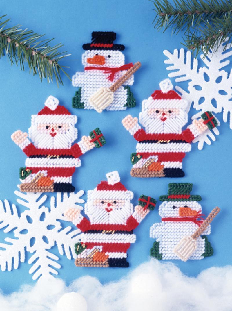 # 1224 Santa & Snowman