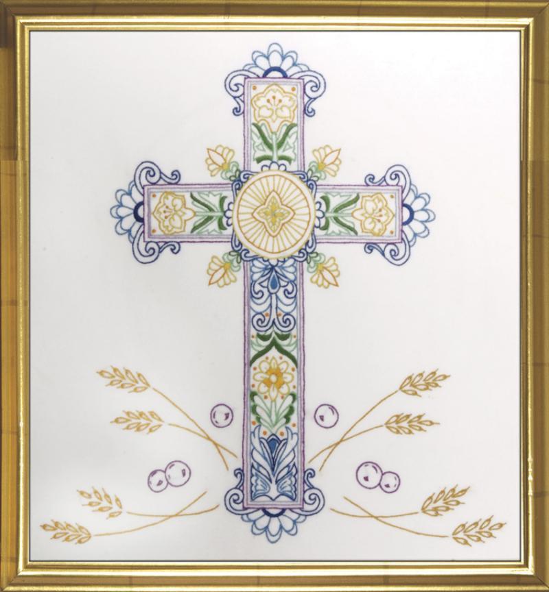 # 2536 Ornate Cross