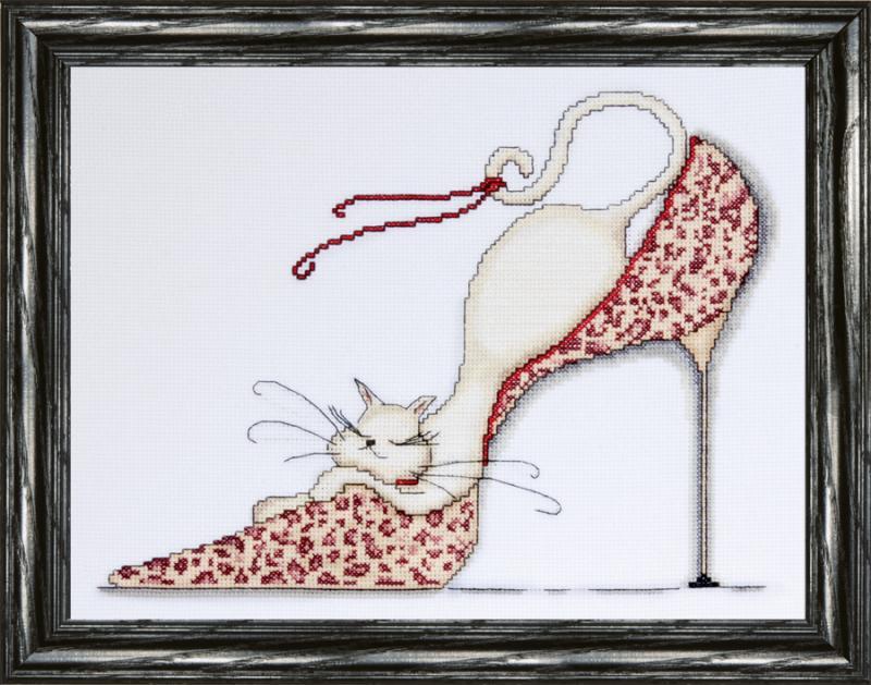 # 2553 Leopard Shoe