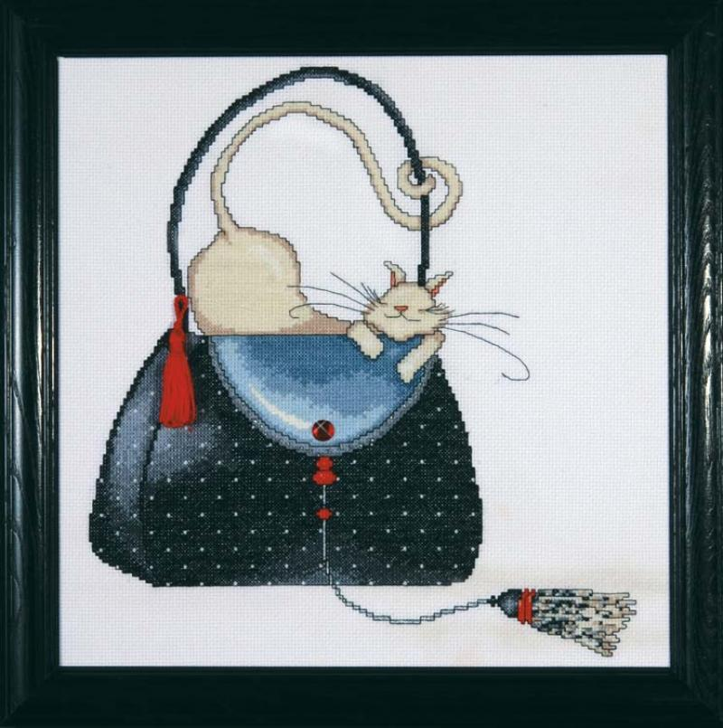 # 2729 Polka Dot Purse