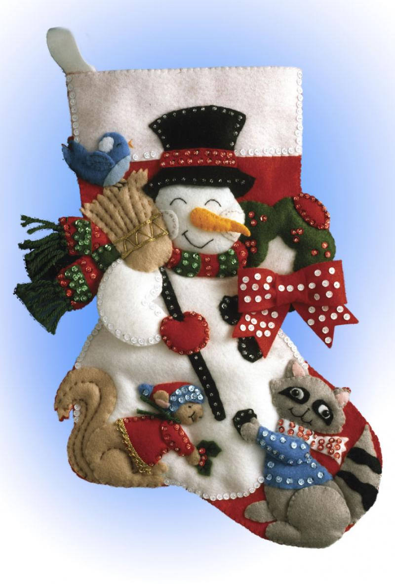 # 5029 Snowman With Animals
