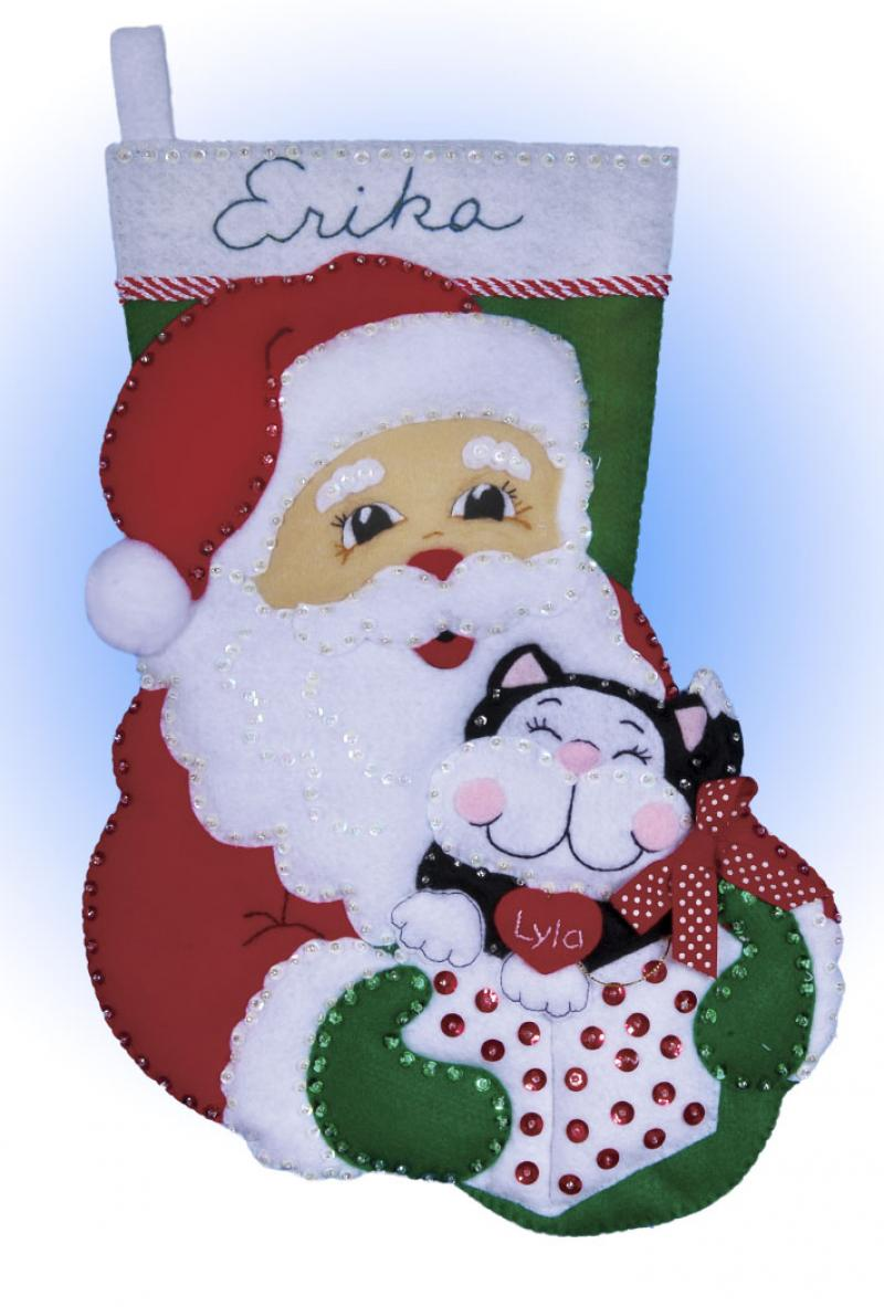# 5096 Santa & Kitten