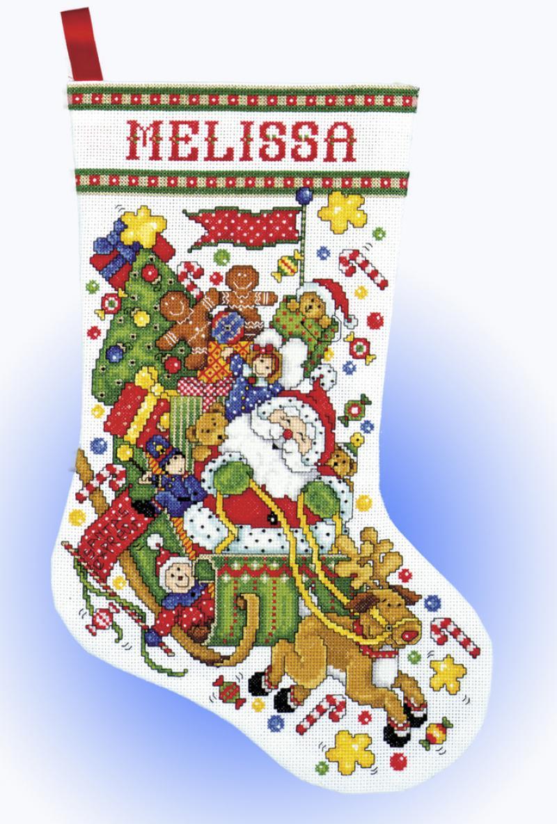Christmas Stockings Kits.Cross Stitch Stockings