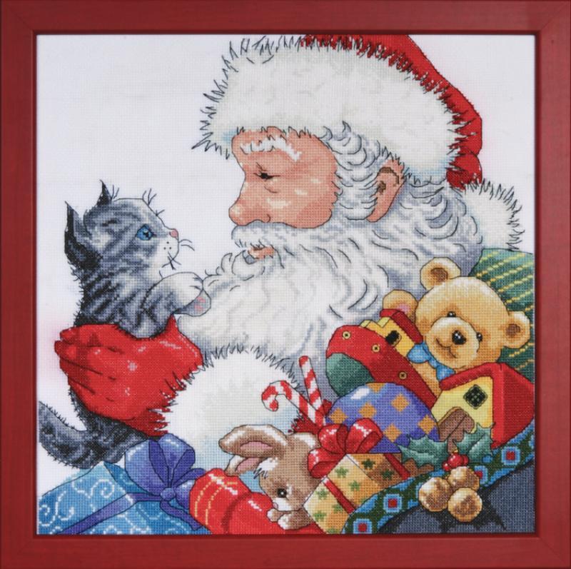 # 5977 Santa With Kitten