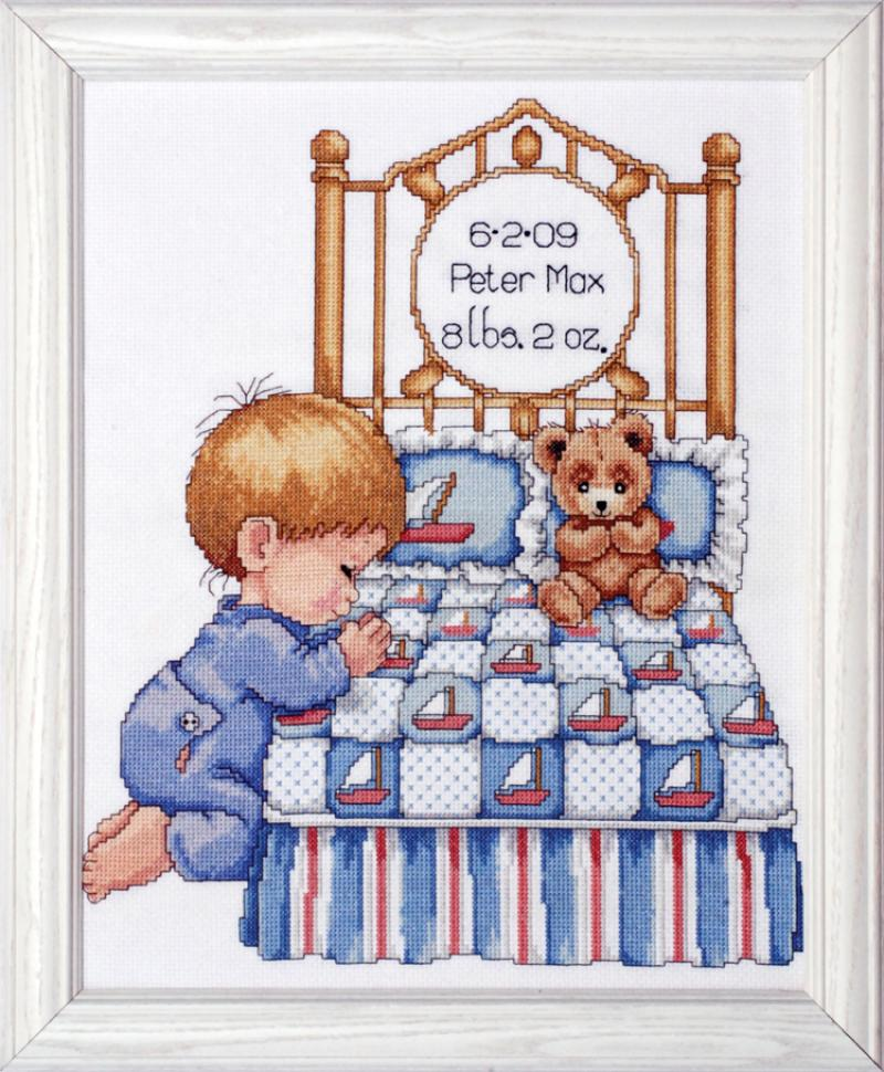 # T21710 Bedtime Prayer (Boy ) Sampler