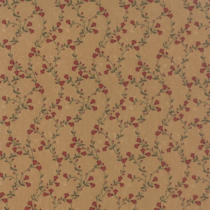 Sunflower Song - Tans - Sold By Half Yard