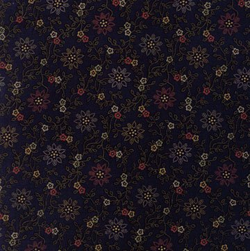 Thistle Farm - Navy - Sold By Half Yard