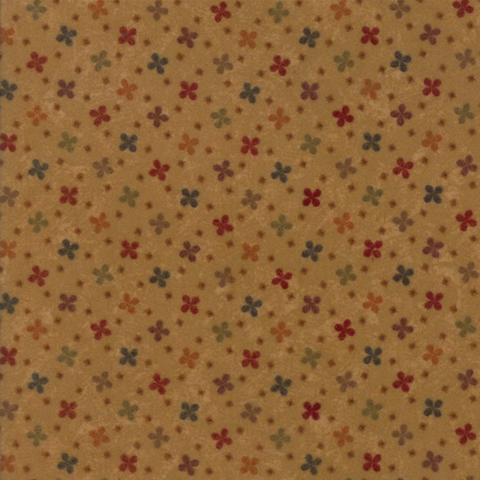 Country Road Flannel - Gold - Sold By Half Yard