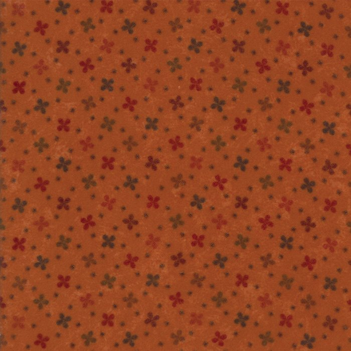 Country Road Flannel - Pumpkins - Sold By Half Yard