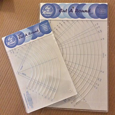 Phillips Fiber Art Cut-A-Round Ruler