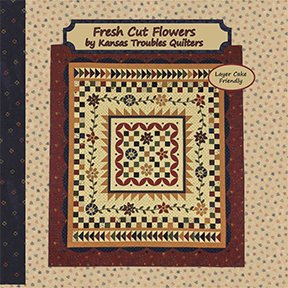 Fresh Cut Flowers Lap Quilt Kit