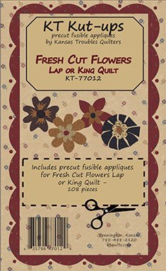 Fresh Cut Flowers Lap/King Kt Kut-Ups
