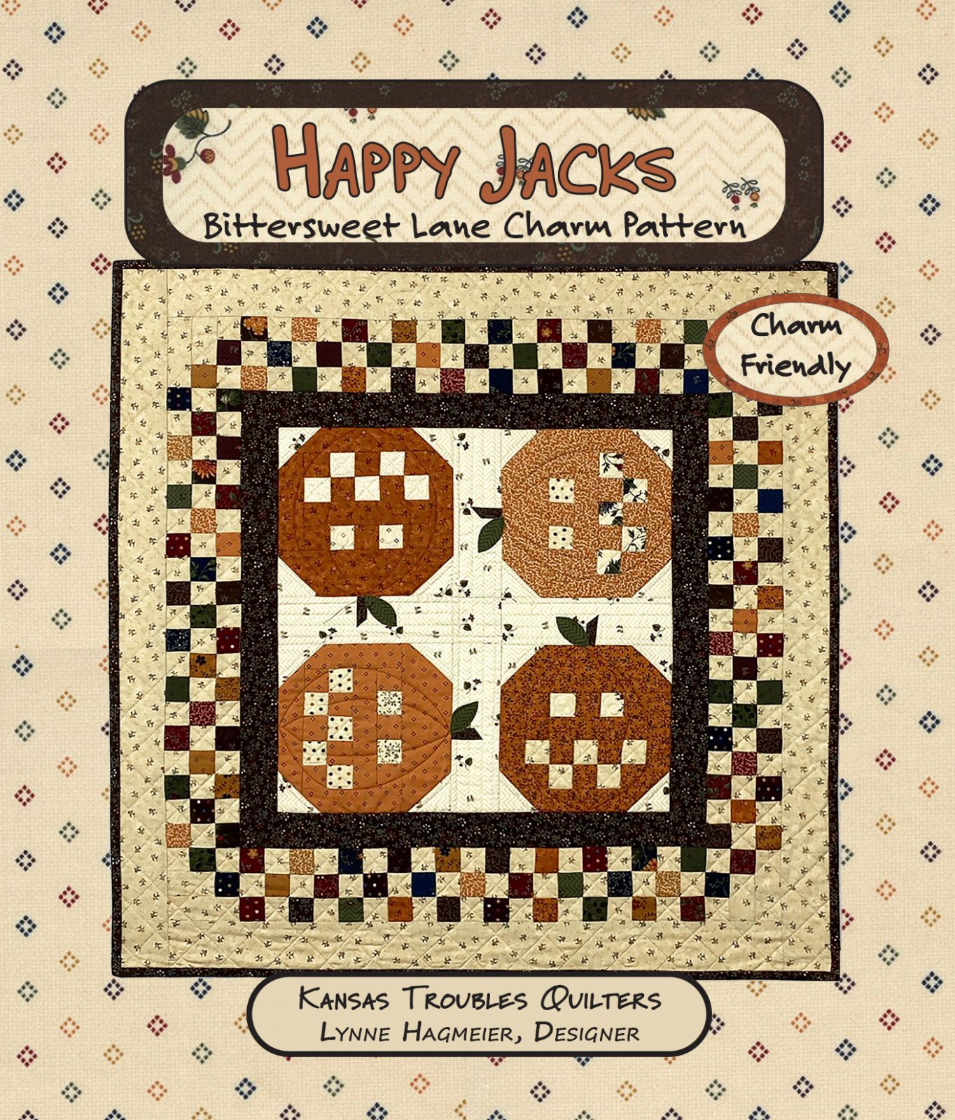 Happy Jacks Charm Pattern PDF