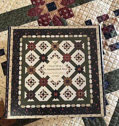 Meadowlark's Song Lap Quilt Kit