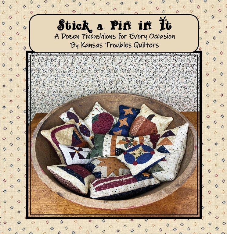 Stick a Pin in It Pincushion Booklet PDF