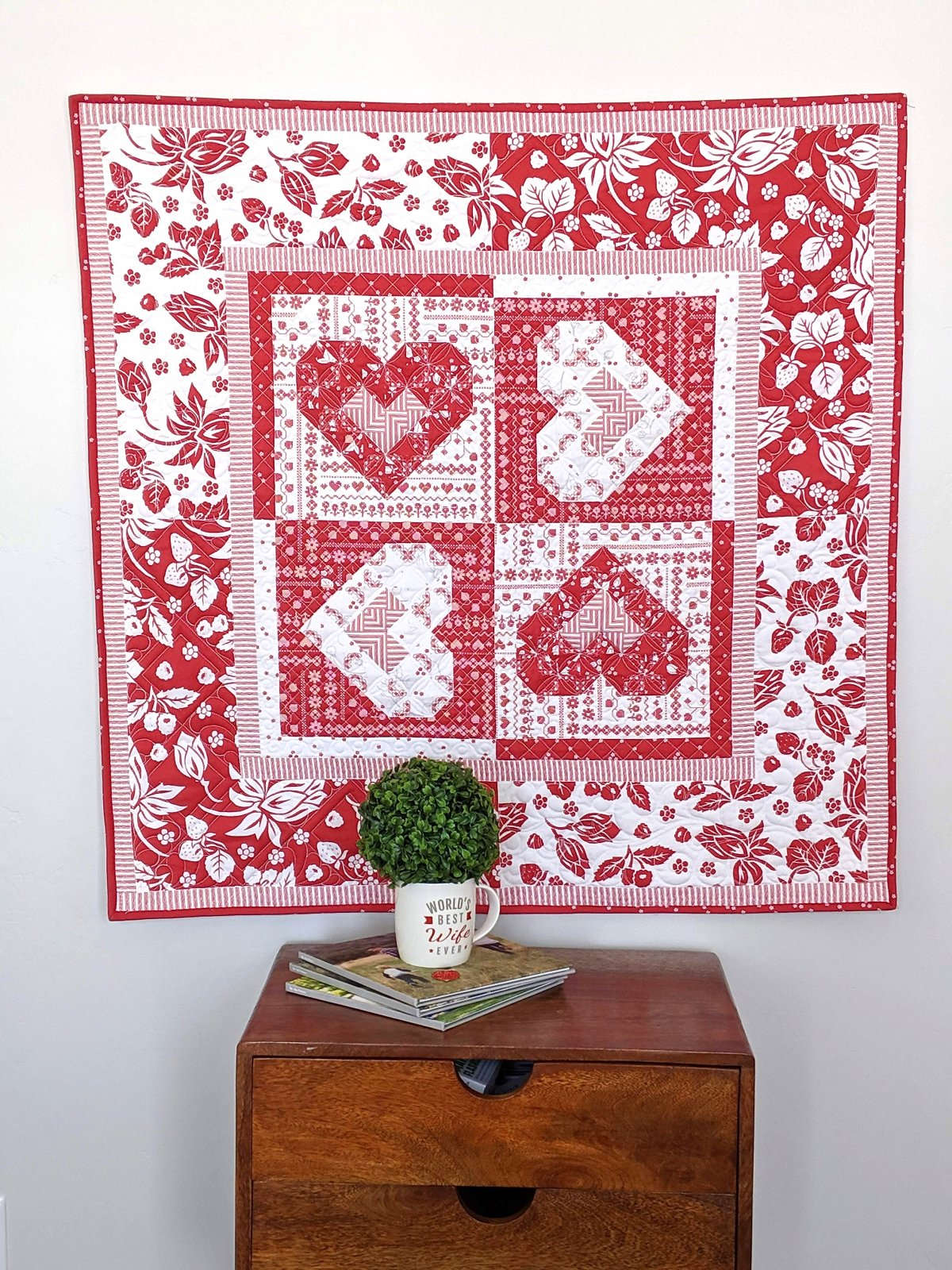 Heart to Heart Quilt Kit