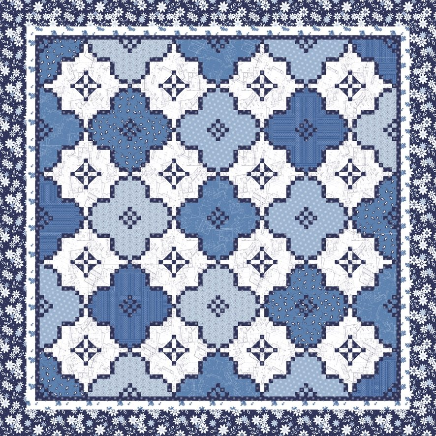 Arabian Nights Quilt Kit