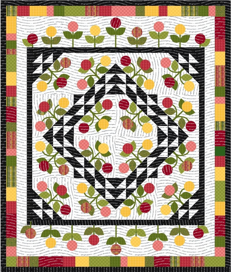 Posy Party Quilt Pattern
