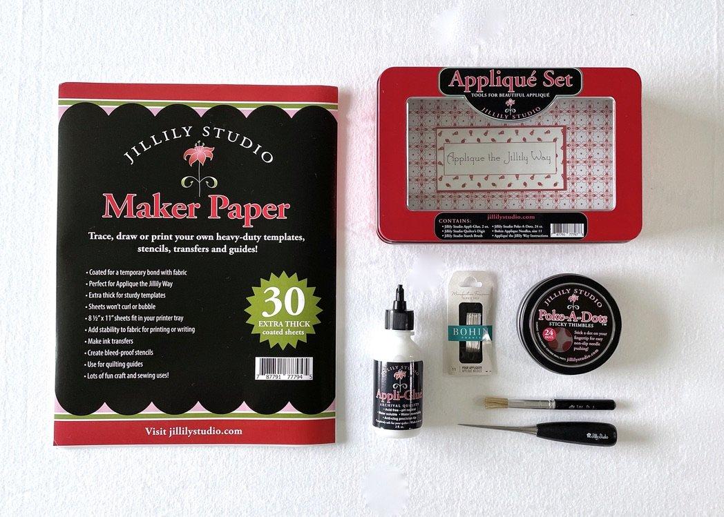 Appliqué Bundle (Appliqué Set + Maker Paper)