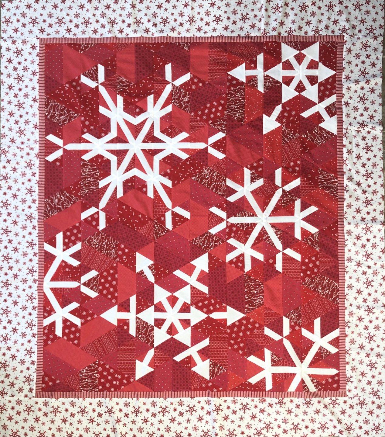 Christmas Blizzard Quilt Kit