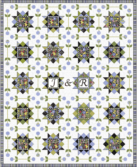 Brighton Wedding Quilt Pattern