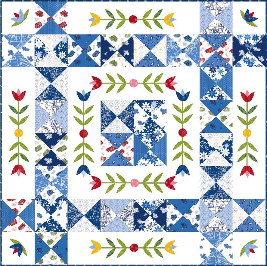 Dutch Delight Quilt Kit