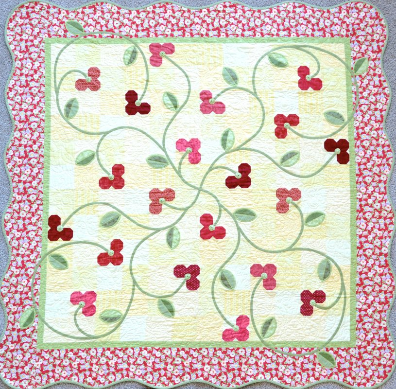 Cherries Jubilee Pattern Digital Download