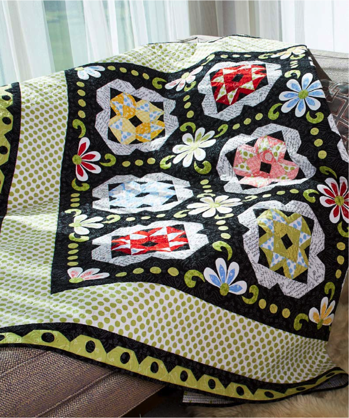 Dotted Swiss Quilt Kit