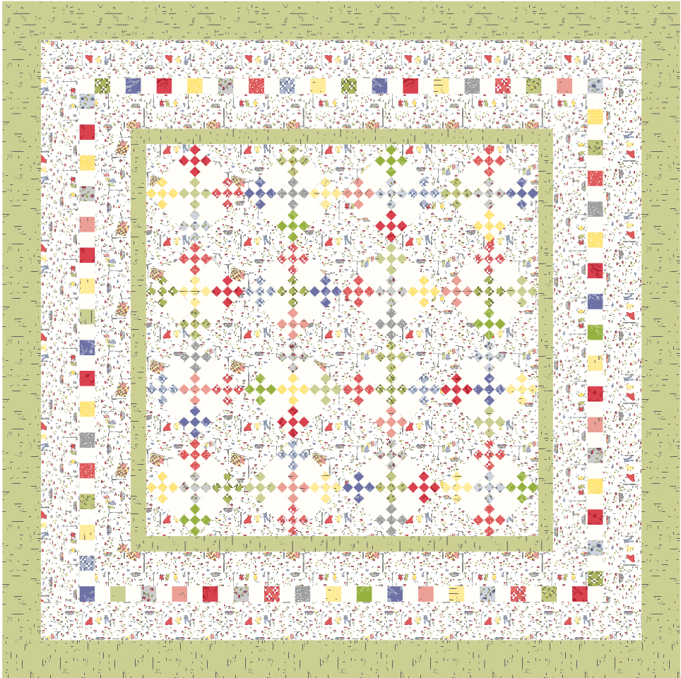 Dressed to the Nines Quilt Pattern