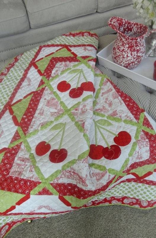 Cherry Lane Pattern Digital Download