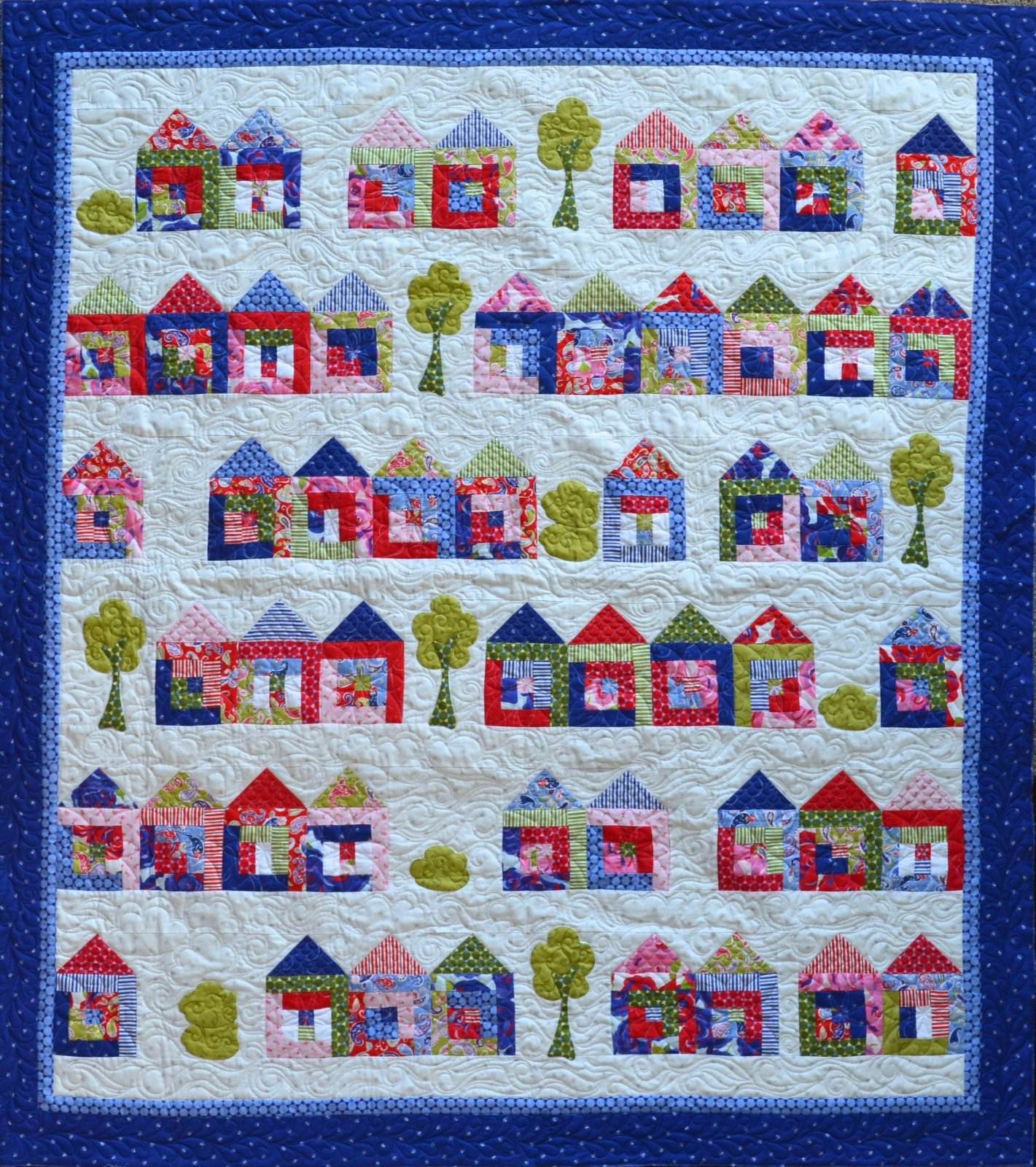 Tiny House Craze Pattern