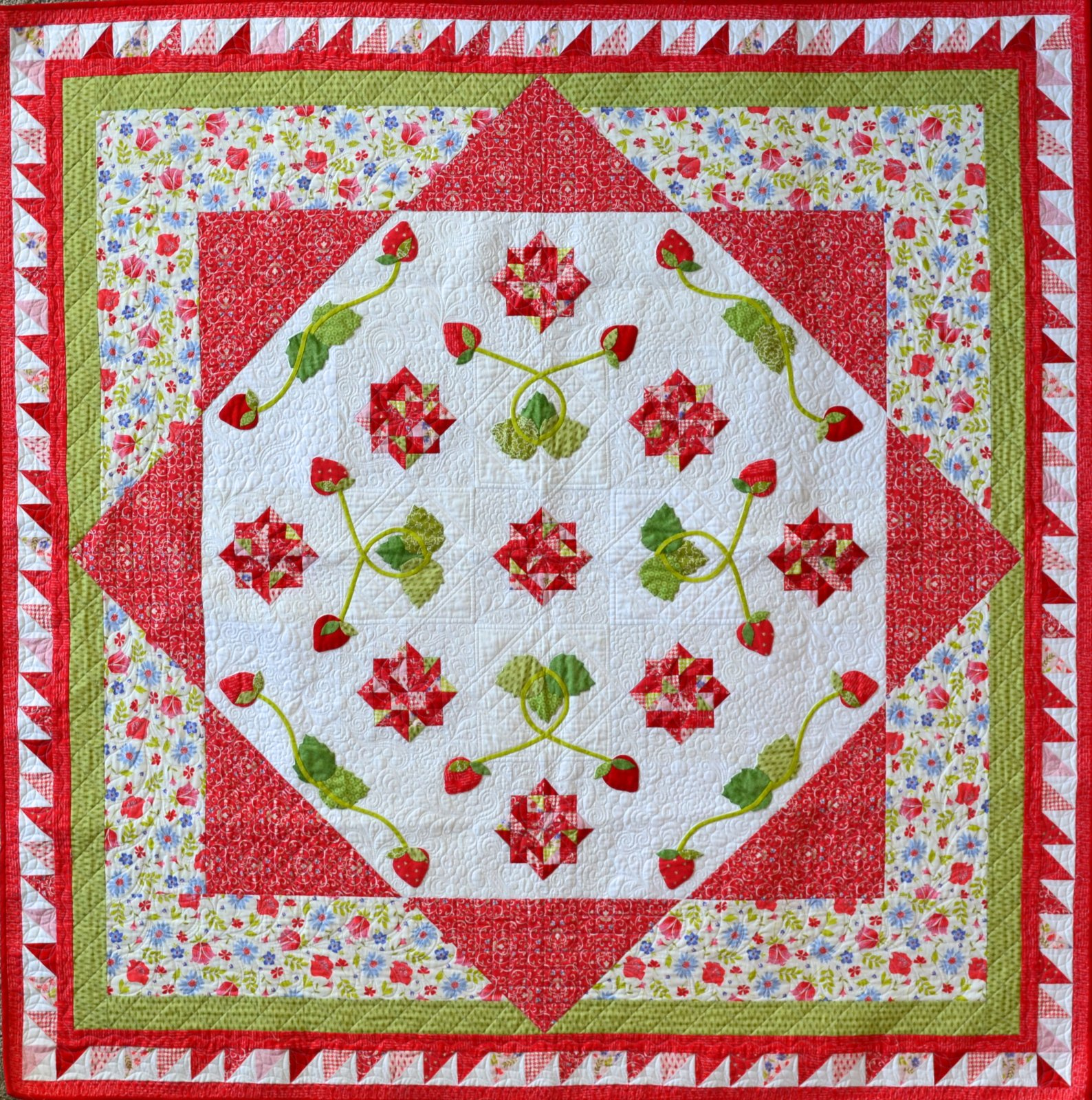 Strawberry Tart Pattern